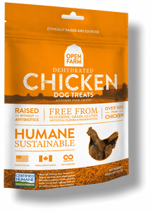 Holistic Dog Treats Open Farms Dehydrated Chicken 4.5 oz
