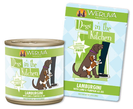 Weruva Dogs In The Kitchen Lamburgini – With Lamb & Pumpkin Au Jus 2.8 oz