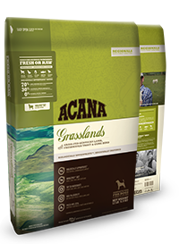 Holistic Dry Dog Food Acana Grasslands 13lb