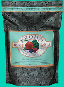 Holistic Cat Food Fromm Salmon Tunachovy Four-Star Grain Free Dry 15lb
