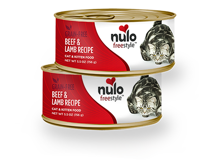 Holistic Cat Nulo Freestyle Grain Free Beef & Lamb Recipe 5.5 oz