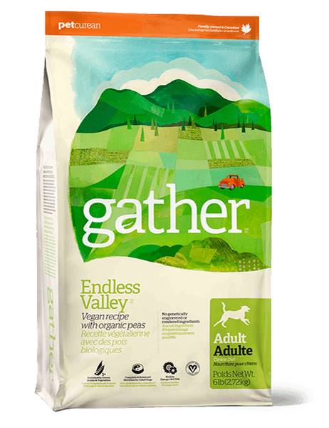 Holistic Dog Food Petcurean Gather Endless Valley Dog 6lb