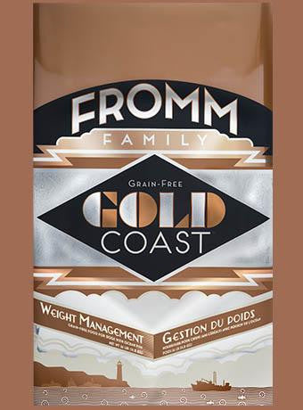 Holistic Dog Food Fromm Gold Coast Weight Management Gold Dry 12lb