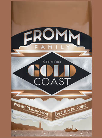 Holistic Dog Food Fromm Gold Coast Weight Management Gold Dry 26lb