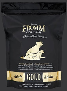 Holistic Dog Food Fromm Adult Gold Dry 15lb