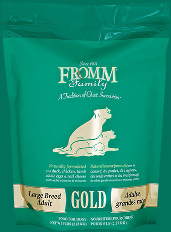 Holistic Dog Food Fromm Large Breed Adult Gold Gold Dry 33lb