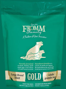 Holistic Dog Food Fromm Large Breed Adult Gold Dry 15lb