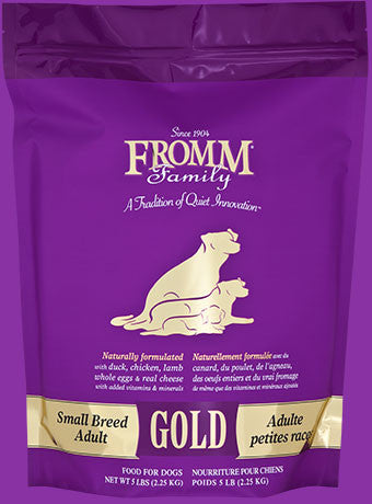Holistic Dog Food Fromm Small Breed Adult Gold Dry 15lb