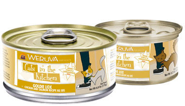 Weruva Cats In The Kitchen Goldie Lox - Chicken and Salmon Recipe Au Jus 3 oz