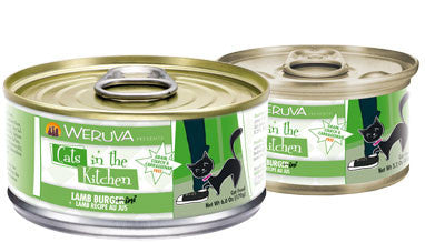 Weruva Cats In The Kitchen  Lamb Burgini - Lamb Recipe Au Jus 3 oz