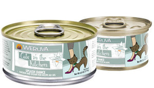 Weruva Cats In The Kitchen  Splash Dance - Chicken & Ocean Fish Recipe Au Jus 6 oz