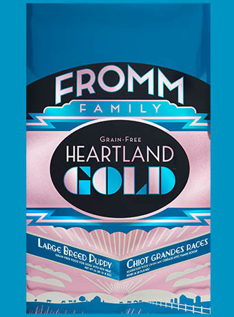 Holistic Dog Food Fromm Heartland Gold Large Breed Puppy Gold Dry 26lb