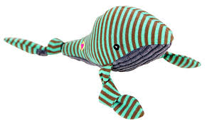 Hugglehound Whale Large Dog Toy