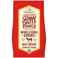 Stella and Chewy's Raw Coated Wholesome Grains Grass Fed Beef Recipe Dry Dog Food