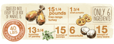 Holistic Dog Food Honest Kitchen Turkey & Parsnip Marvel ™ 10lb