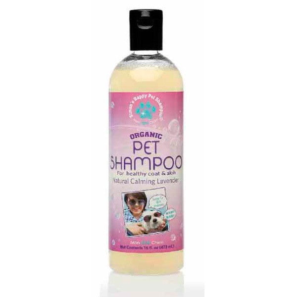 Holistic Dog Simon's Happy Pet Organic Dog Detox Calming Lavender Shampoo 16 oz