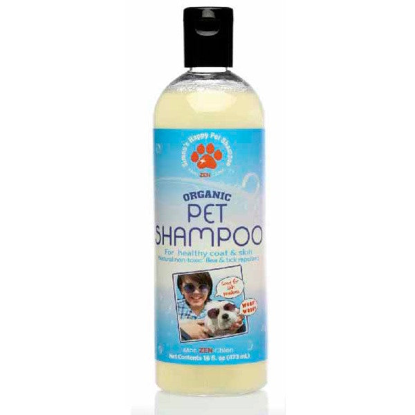 Holistic Dog Simon's Happy Pet Organic Dog Detox Magic Peppermint Shampoo 16 oz