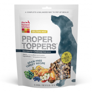 Holistic Dog Food Honest Kitchen Grain Free Turkey Superfood Turkey Proper Toppers ™ 5.5oz
