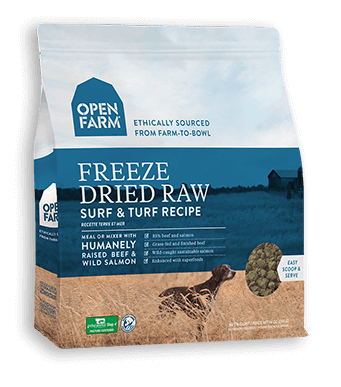 OPEN FARM FREEZE DRIED SURF AND TURF 13OZ