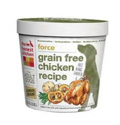Holistic Dog Food Honest Kitchen Grain Free Force ® Chicken 3 oz
