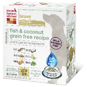 Holistic Dog Food Honest Kitchen Grain Free Fish & Coconut Brave ™ 4lb