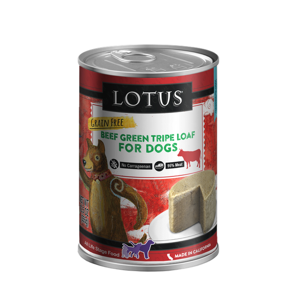 Lotus Beef Green Tripe  for dogs