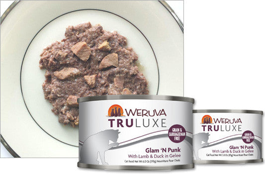 Weruva Truluxe Glam 'N Punk – With Lamb & Duck in Gelee 6oz