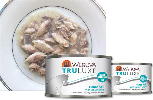 Weruva Truluxe Honor Roll – With Saba in Gravy 3oz
