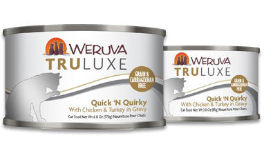 Weruva Truluxe Quick 'N Quirky – With Chicken & Turkey in Gravy 6oz