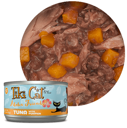 Tiki Cat Tuna with Shrimp and Pumpkin 2.8oz