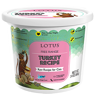 Lotus Raw Turkey Recipe For Cats Local Delivery Only South Florida