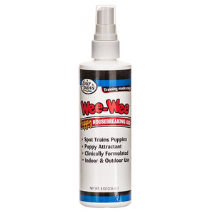 Holistic Pet Four Paws Wee-Wee Puppy Housebreaking Aid Spray 8 oz