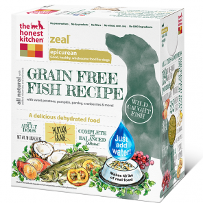 Holistic Dog Food Honest Kitchen Grain Free Fish Zeal ® 10lb