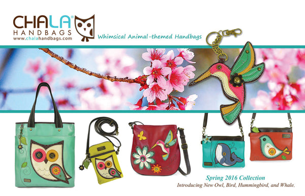 Chala Handbags Birds Collection