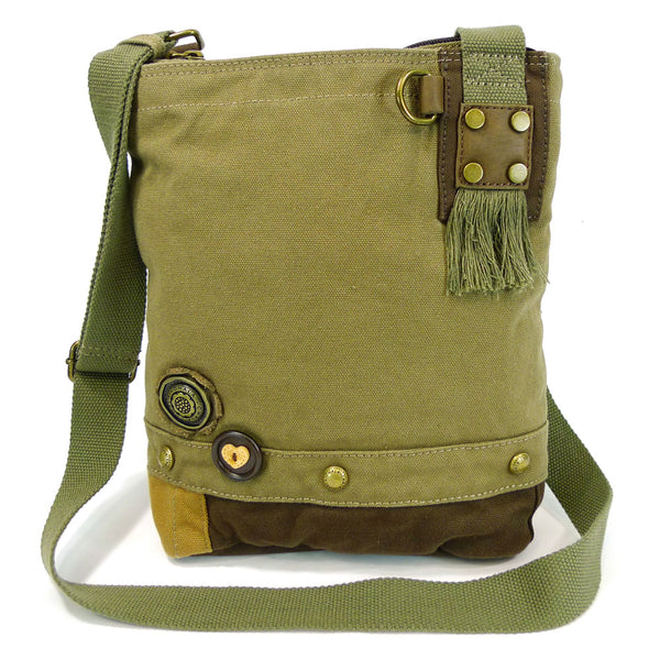 Chala Canvas Cross-body Messenger bag (6 Colors ) + any Chala Keyfob