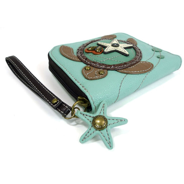 Charming Deluxe Wallet Collection Animal Theme Collections (Turtle)