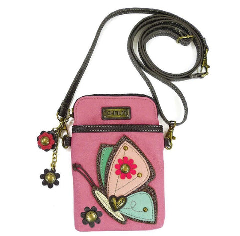 Charming Chala Graceful Butterfly Cell Phone Purse Mini Crossbody Bag