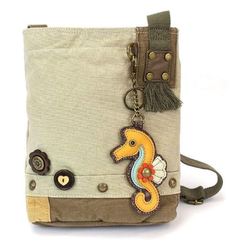 Patch Crossbody Bag-Seahorse (Sand)