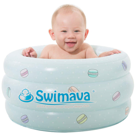 P3 Swimava 5 Gallons Macaron Baby Bathing Tub/Toy bin for Baby and Toddlers