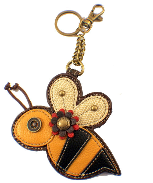 Chala Coin Purse - Key Fob - BUSY BUMBLEBEE