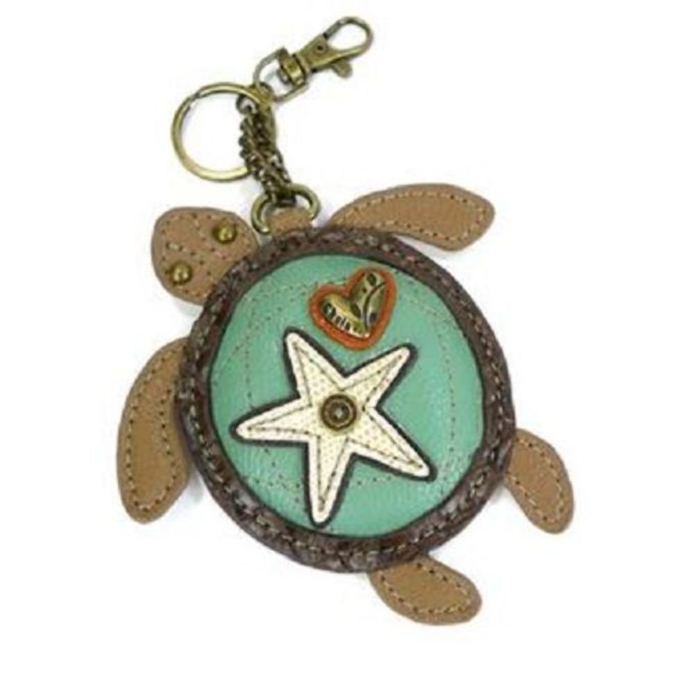 Chala Coin Purse - Key Fob - SEA TURTLE
