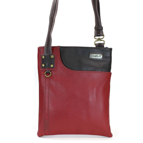 Chala Burgundy Swing Cross-Body Small Phone Purse (Bag Only)