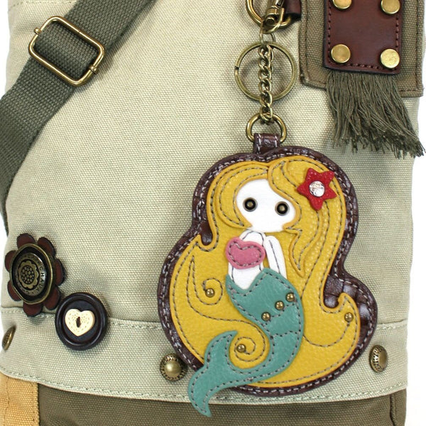 Chala Patch Crossbody Bag - Mermaid - Sand