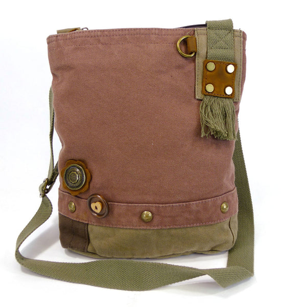 Chala Patch Crossbody Messenger Bags (6 Colors) + Free Key Fobs