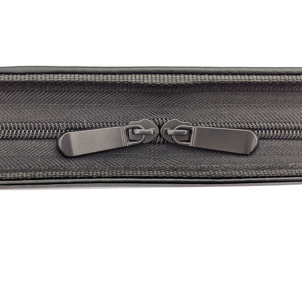 MSP - 3 Rings Binder Portfolio briefcaser Business Professional-  Black (045)