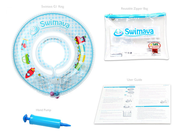 G2 Yellow Baby Body Ring + Swimava G1 Starter Ring (Value Pack)-Free Shipping - Swimava USA - 15