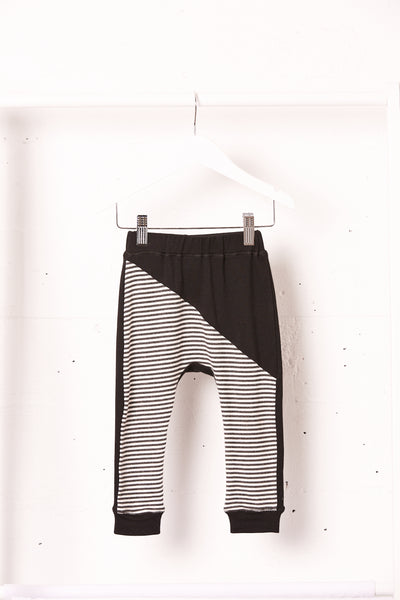 Striped Diagonal Jogger