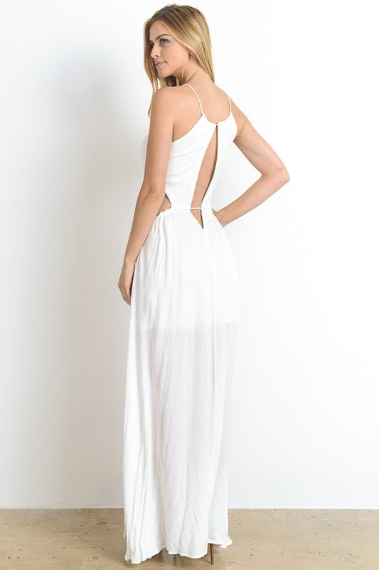 EXTRATROPICAL MAXI DRESS