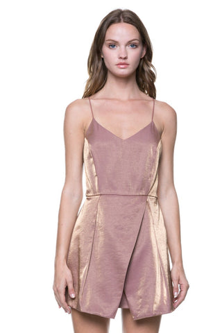ROSALINE METALLIC DRESS