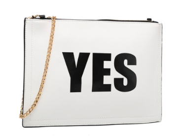 YES / NO CROSSBODY